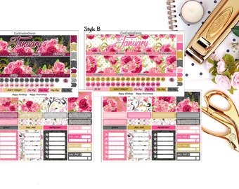 Custom Monthly View for your Erin Condren Life Planner/Happy Planner