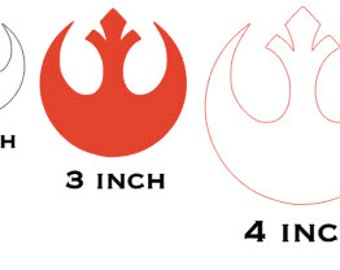 Star Wars-Inspired Rebel Decal