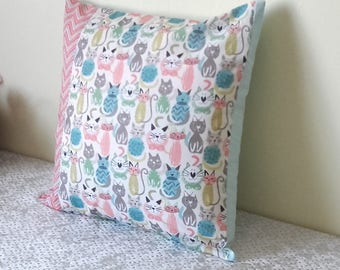 """Pillow cover """"funny cats"""""""
