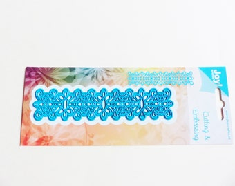 die cutting and embossing border stencil cutting and embossing die Garland