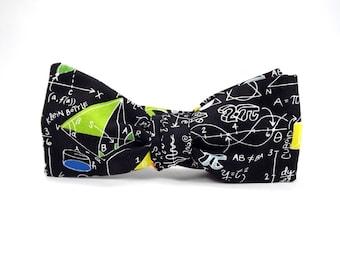 math bowtie, pi bowtie, geometry bowtie, science bowtie, mens bowtie, mathematics bowtie, equations bowtie, math equations, geometry proofs