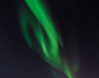 Aurora Borealis photo print, night sky, midnight, fine art photograph, northern lights, aurora photograph, landscape photograph nature photo