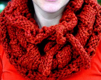 Cowl Knitting Pattern: Country Cowl (PDF)