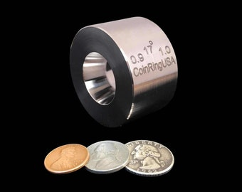 "0.9"" x 1.0"" UNIVERSAL Folding/Reduction Die @ 17-Degree Tapers, Hardened Stainless Steel for the smaller coins"