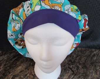 Women's Bouffant scrub hat