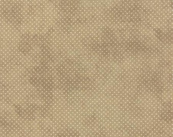 Black Tie Affair Floral Mini Polka Dot Cream Tan 30427 18 by Basic Grey for Moda