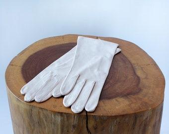 Petal Pink Leather Gloves S • Light Pink Gloves • Pink Leather Gloves • Pink Driving Gloves • Fancy Pink Gloves • Dress Gloves • W507