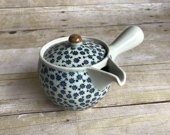 Little Floral Tea Pot - Teapot - Blue