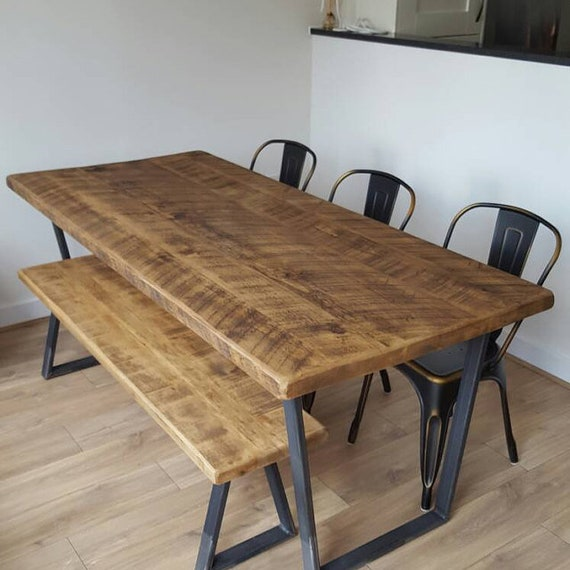 Lovely John Lewis Calia Style Industrial Reclaimed Dining Table