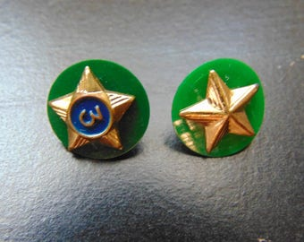 Vintage Boy Scouts Of America rank pins (lot of 2)