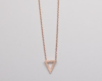 Callie Rose Gold Necklace