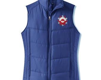 Grandma's Little Snowflake (Aanaap Aputaaraataa) Women's Puffy Vest