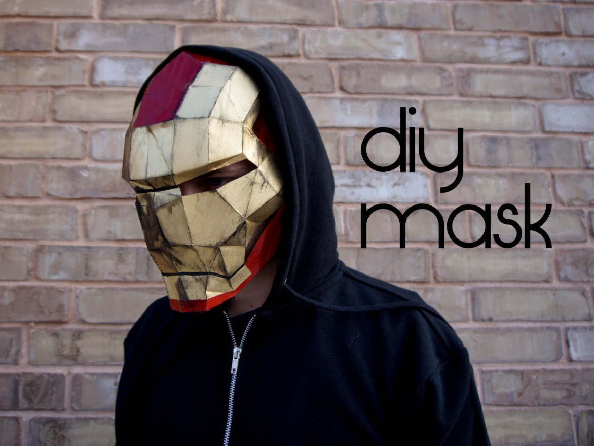 Iron Man Mask Make Your Own With A PDF Download