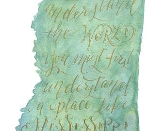 Faulkner Poster