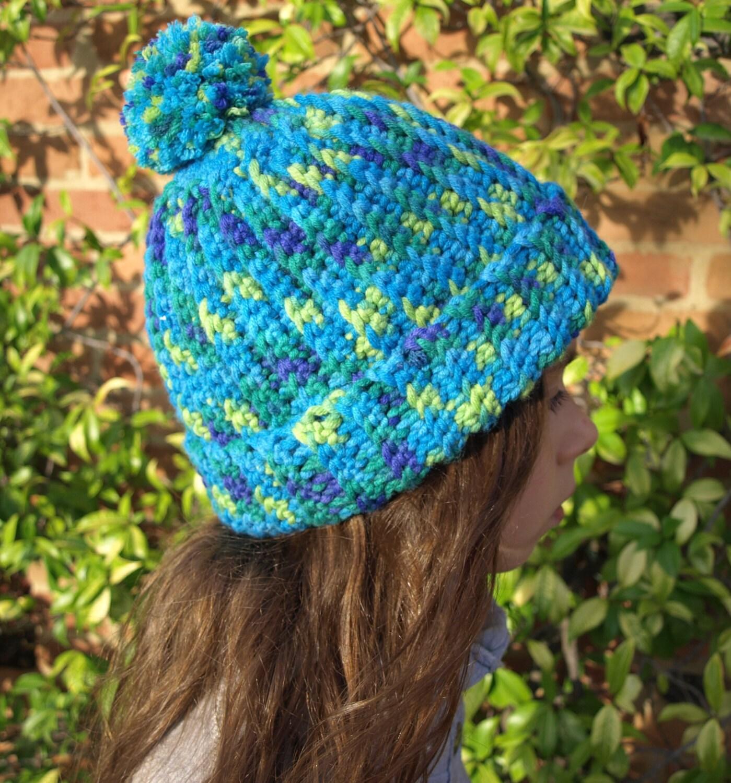 Crochet Beanie PATTERN, Crochet hat pattern, Easy crochet pattern ...