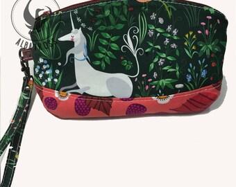 Unicorn Wristlet Pouch