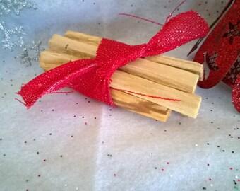 Quality Holiday Bundle 6 Palo Santo Sticks Holy Wood Purify Incense smudge Holy stick Christmas Gift