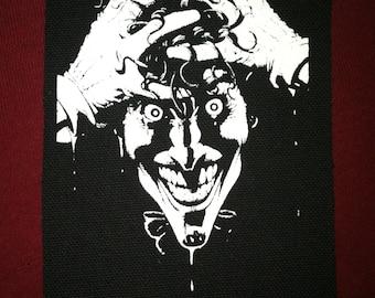 Joker Cloth Punk Patch
