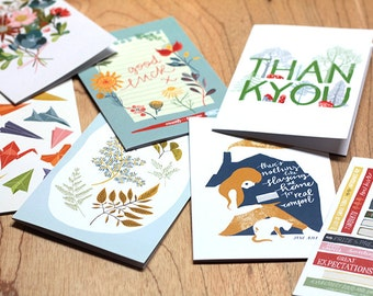 Card Selection (Pack of 8)