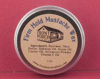 Firm Hold Mustache Wax - 1 oz