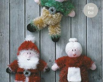Tinsel Christmas Toys Knitting Pattern