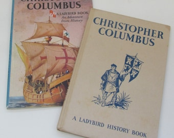 Vintage Children's Book - Christopher Columbus- A Ladybird Book with Dust Jacket