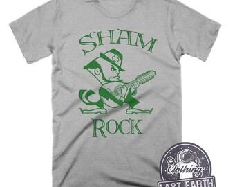 St Patricks Day Shirt Leprechaun Shirt Funny Tshirts Shamrock Shirt Rock Tshirt Funny Shirts St Pattys Day Shirt Mens Tshirt Guitar Shirt