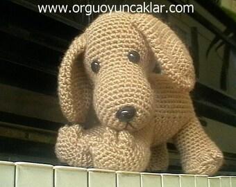 Free Amigurumi Dachshund Pattern : Crochet pattern sammy the puppy dog crochet dog crochet