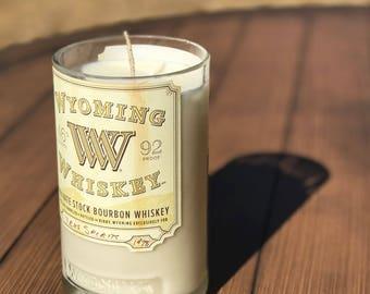 Wyoming Whiskey Bourbon Candle