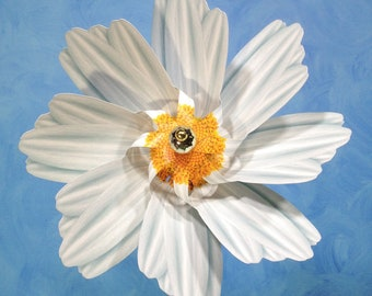 Daisy Pinwheel Whirligig Wind Spinner Windmill Fan