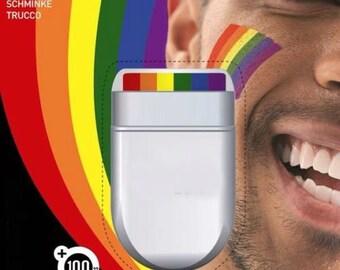 Face Paint Rainbow colours