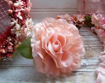 Vintage Rose Corsages, Flower Corsages, Vintage Flowers, Antique Flowers, Corsages, Peach Vintage Flowers, Peach Corsages, Rose Corsages