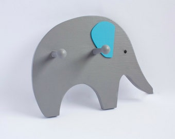 Elephant Clothes Hook / Coat Hook / Hanger / Children's Room / Nursery / Kid's Decor