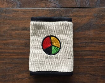 NOS Peace Symbol Wallet, made in Nepal