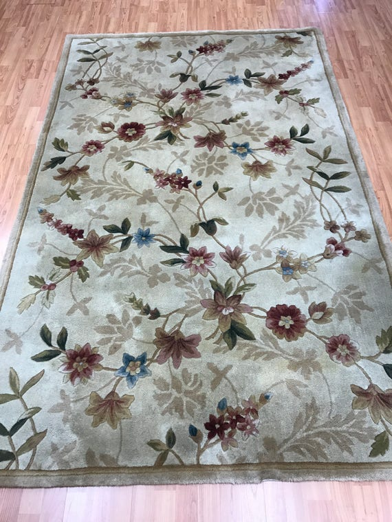 5' x 8' Chinese Art Deco Oriental Rug - Tufted - Hand Made - 100% Wool