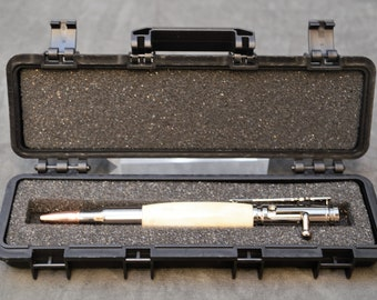 Tactical Rifle Case Pen Box in Black, Desert Tan, or Olive Drab Green