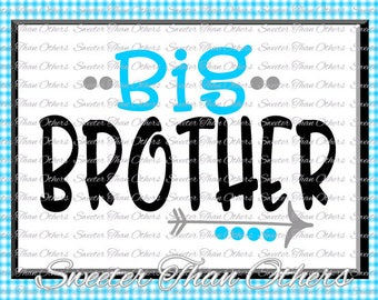 Brothers svg, Big Brother svg, Family svg, Dxf Silhouette Studios, Cameo Cricut cut file INSTANT DOWNLOAD, Family Bear Set, HTV Design Diy