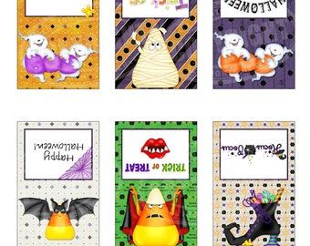 Halloween Pretzel Bag Toppers - Treat Bag Toppers - Pretzel Treat Bag Toppers