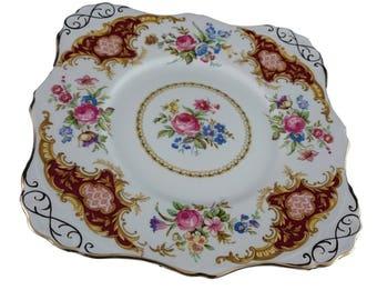 "Tuscan ""Windsor"" Cake Plate"
