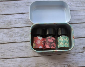 3 3ml Sample perfume oils