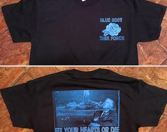 Twin Peaks Blue Rose Task Force T-Shirt