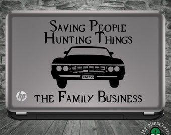 The Family Business SPN Decal