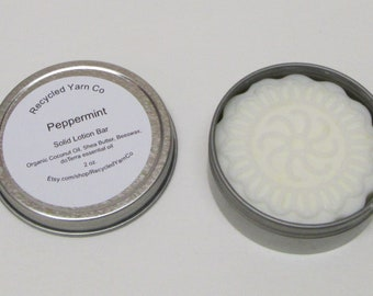 PEPPERMENT Solid Lotion Bar made with doTerra essential oil