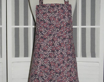 Whimsical Leaf Kitchen Apron - Free or Priority Shipping