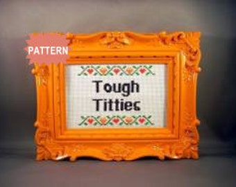 PDF/JPEG Tough Titties (Pattern)