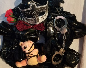 Kink Faux Leather Wreath
