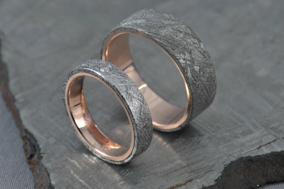 titanium meteorite rings johan band wedding seymchan ring ideas over decor meteor jewelry by