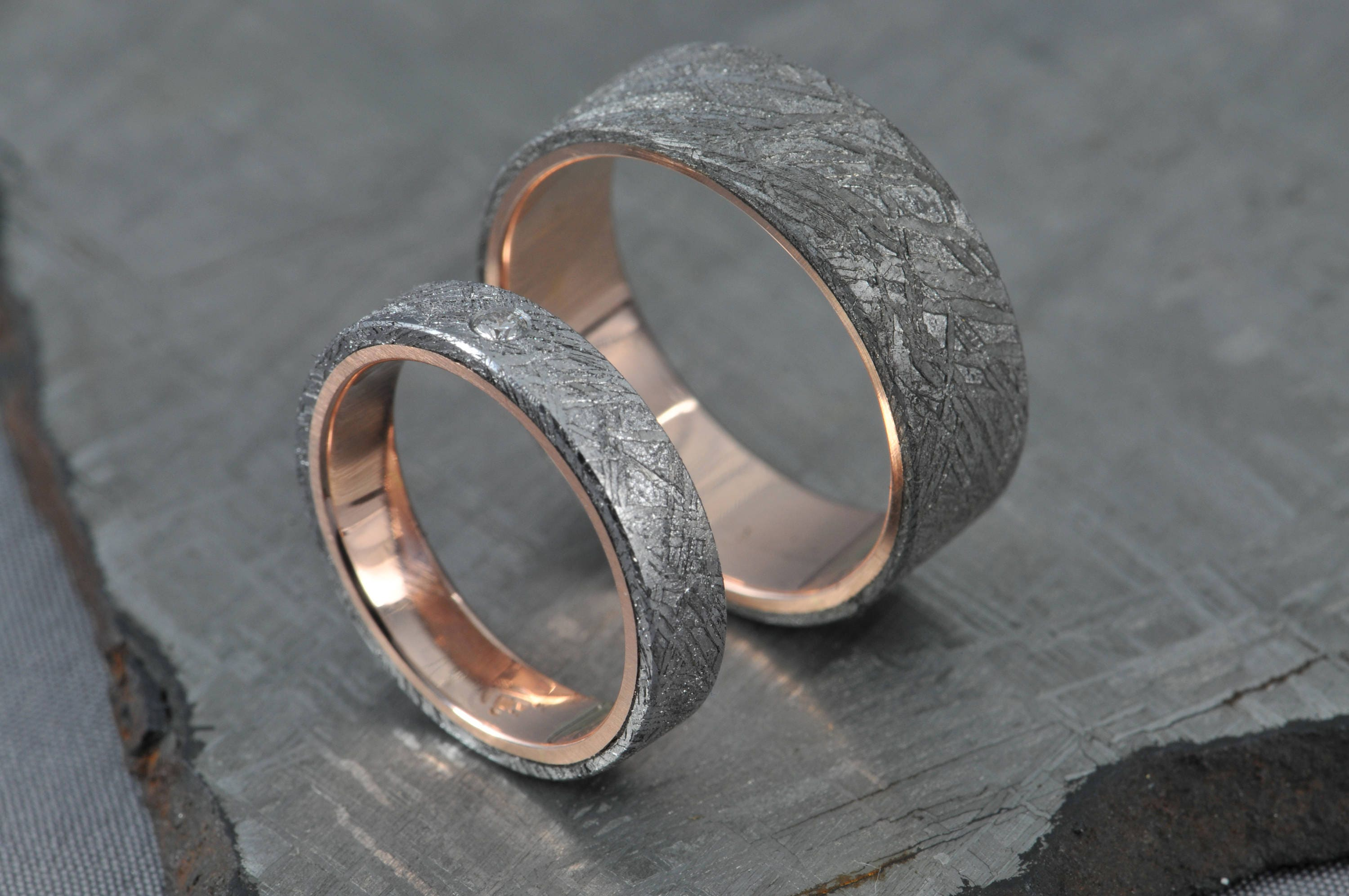 platinum by rings engagement nathan designs wedding wood petrified