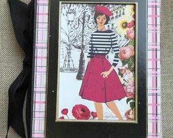 Handmade Paris Chic Journal/French Journal/Paris Keepsake Album