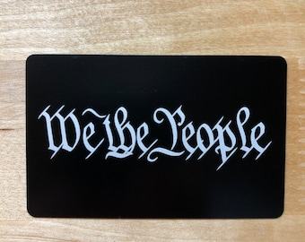 We The People Miranda Card